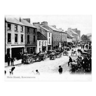 Old Postcard - Roscommon, Ireland