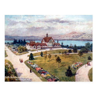 Old Postcard - Rotorua, New Zealand