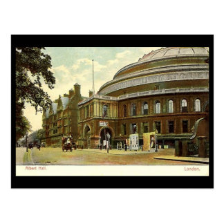 Old Postcard - Royal Albert Hall, London