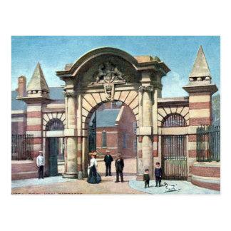 Old Postcard - Royal Naval Barracks, Portsea
