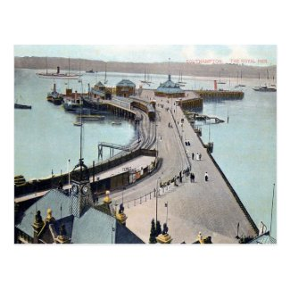 Old Postcard - Royal Pier, Southampton