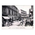 Old Postcard - Rue Al-Djazira, Tunis
