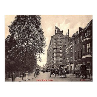 Old Postcard - Russell Square, London