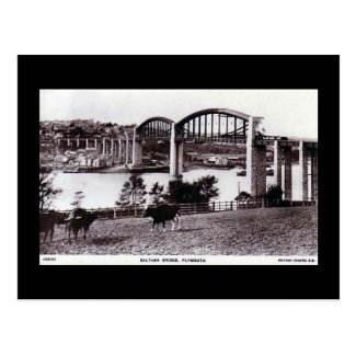 Old Postcard, Saltash