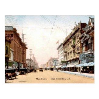 Old Postcard - San Bernadino, California
