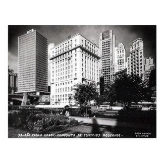 Old Postcard - S�o Paulo, Brazil