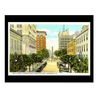 Old Postcard, Savannah, Georgia