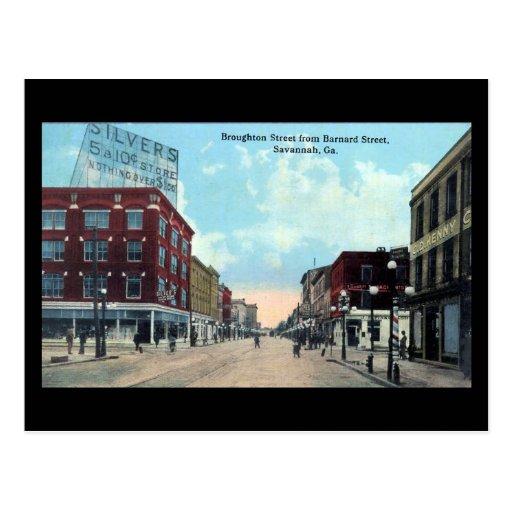 Old Postcard - Savannah, Georgia