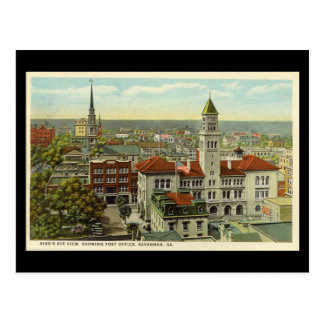Old Postcard, Savannah, Georgia, USA Postcard