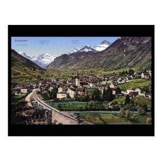Old Postcard - Schwanden, Glarus, Switzerland