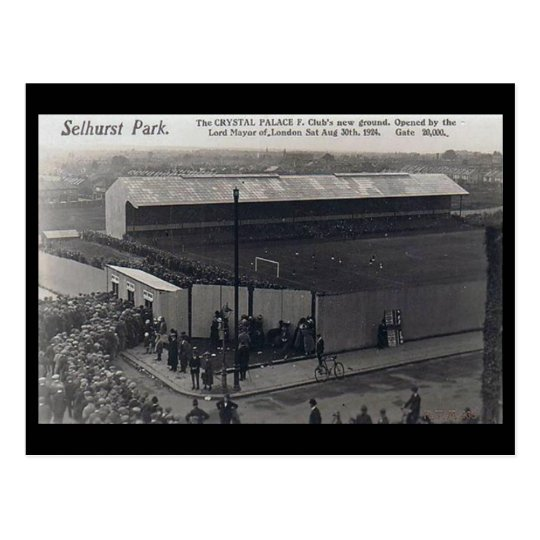 Old Postcard - Selhurst Park, London