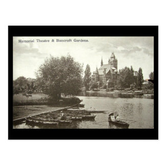 Old Postcard, Shakespeare Memorial Theatre, Stratf