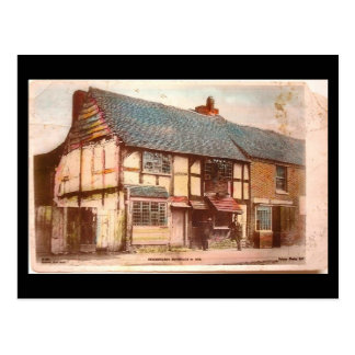Old Postcard - Shakespeare's Birthplace, Stratford