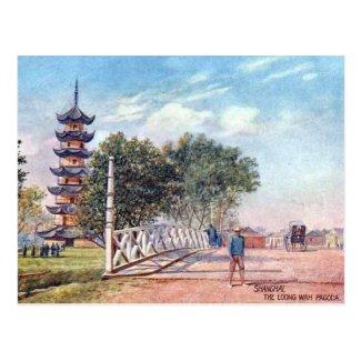 Old Postcard - Shanghai, China