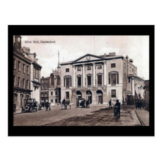Old Postcard - Shire Hall, Chelmsford, Essex