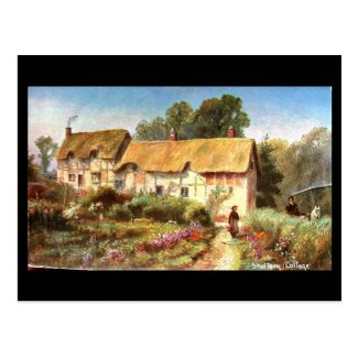 Old Postcard, Shottery, Anne Hathaway's Cottage