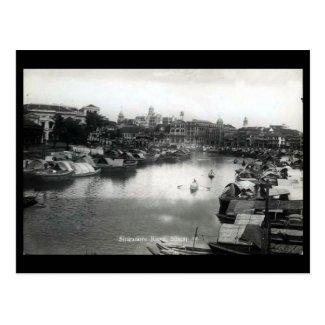 Old Postcard - Singapore