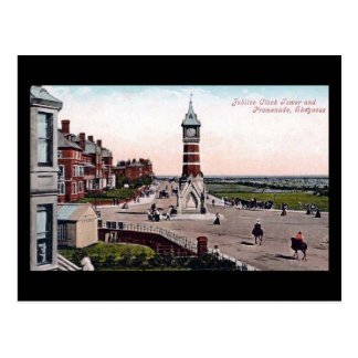 Old Postcard, Skegness, Clock Tower Postcard