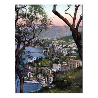 Old Postcard - Sorrento, Italy