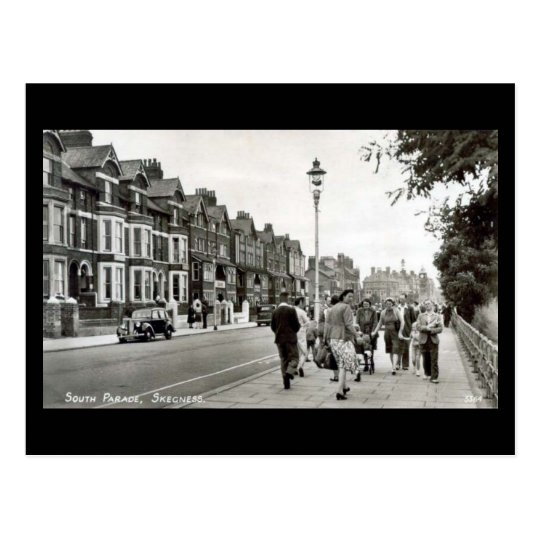 Old Postcard - South Parade, Skegness