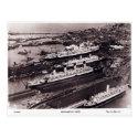 Old Postcard - Southampton Docks