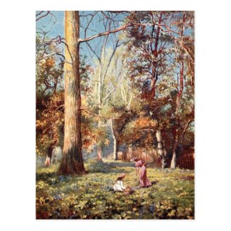 Old Postcard - Spring