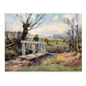 Old Postcard - Spring Morning