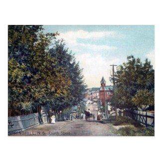 Old Postcard - Springhill, Nova Scotia