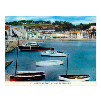 Old Postcard - St Aubin, Jersey, Channel Islands