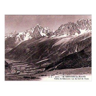 Old Postcard - St-Gervais-les-Bains, Haute Savoie