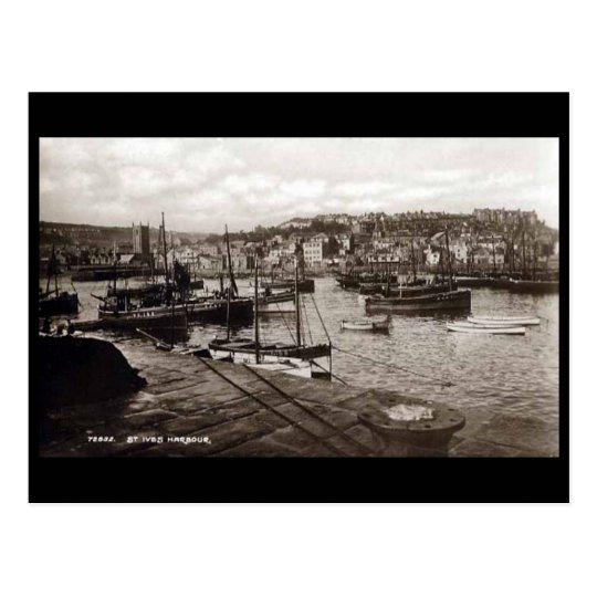 Old Postcard - St Ives, Cornwall