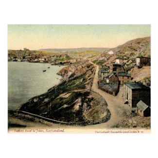 Old Postcard - St John's, Newfoundland