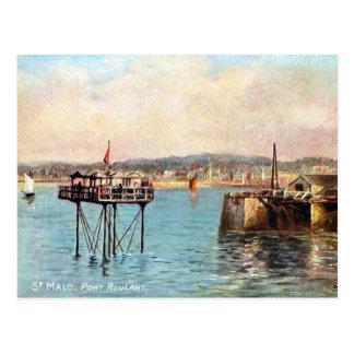 Old Postcard - St Malo, France