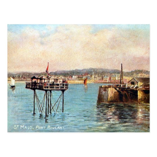Old Postcard - St Malo, France