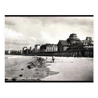 Old Postcard - St Malo, Ille et Vilaine