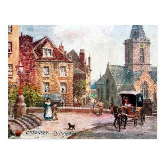 Old Postcard - St Peter Port, Guernsey