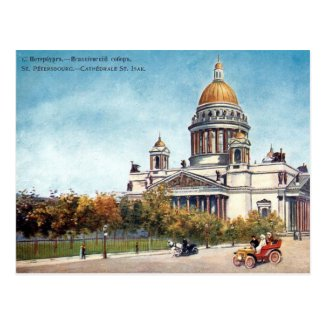 Old Postcard - St Petersburg, Russia