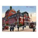 Old Postcard - Stadttheater, Kiel, Germany