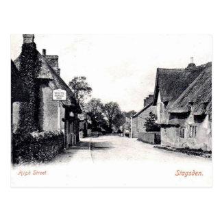 Old Postcard - Stagsden, Bedfordshire