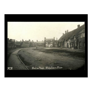 Old Postcard, Station Rd, Shipston-on-Stour, Warwi Postcard