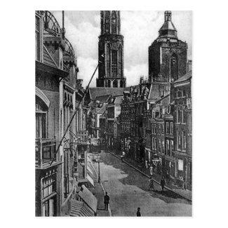 Old Postcard - Steenweg, Utrecht, Netherlands
