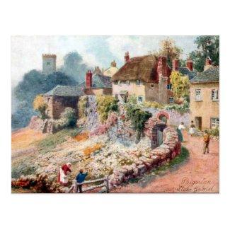Old Postcard - Stoke Gabriel, Devon
