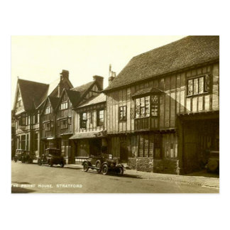 Old Postcard - Stratford-upon-Avon