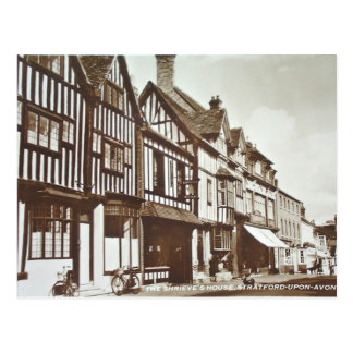 Old Postcard - Stratford-upon-Avon