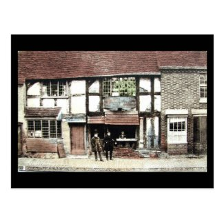 Old Postcard - Stratford-upon-Avon, Shakespeare's Birthplace