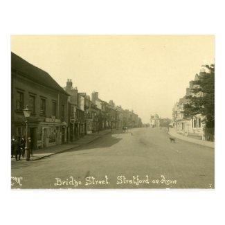 Old Postcard - Stratford-upon-Avon, Warwickshire