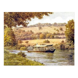 Old Postcard - Streatley, Berkshire