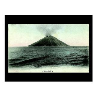 Old Postcard, Stromboli Postcard