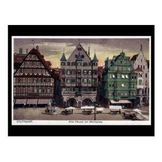 Old Postcard - Stuttgart, Germany