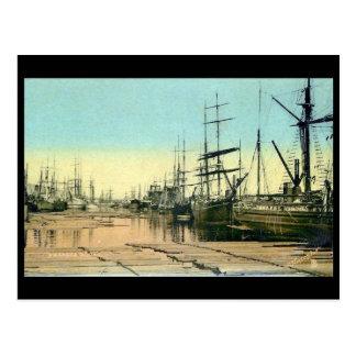 Old Postcard - Swansea Docks
